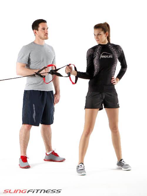 Sling Personal Training für die Schulter