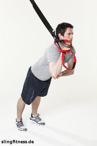 sling training Arme Trizeps einarmig 2