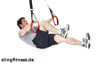 sling-training_Bauch_Assisted Crunch Fahrrad fahren_2