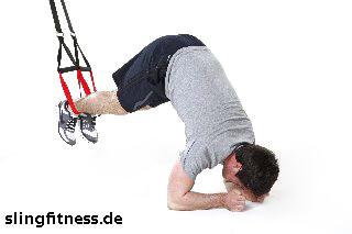 sling-training_Bauch_Recrunch auf Ellenbogen mit Pike_2