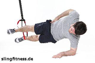 sling-training_Bauch_Sidestaby einbeinig mit Abduktion_1