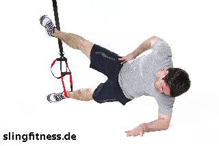 sling-training_Bauch_Sidestaby einbeinig mit Abduktion_2