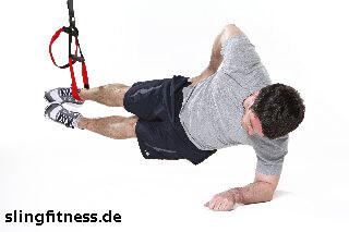 sling-training_Bauch_Sidestaby einbeinig mit Adduktion_2