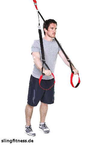 sling-training_Bauch_Standing Roll Out ein Arm gebeugt_1