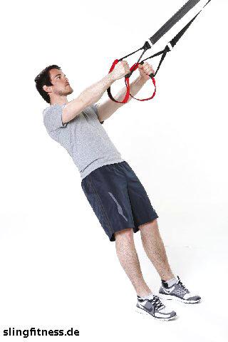 sling-training_Beine_Squat_Arme gestreckt_1