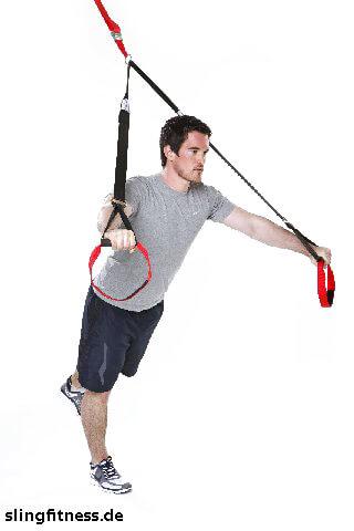 sling-training_Brust_Chest Press halten ein Bein nach hinten heben_1