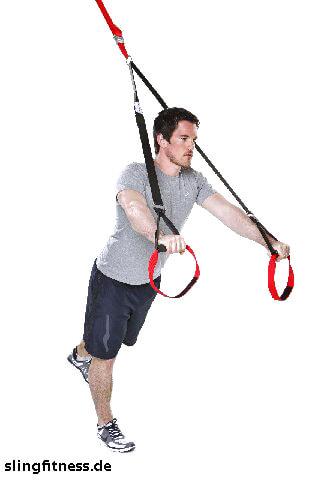 sling-training_Brust_Chest Press halten ein Bein nach hinten heben_2