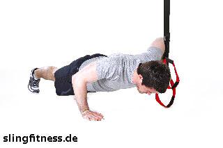 sling-training_Brust_Push up eine Hand am Griff_2