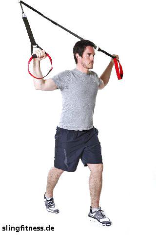 sling-training_Stretching_Brust Arme gebeugt nach oben_1