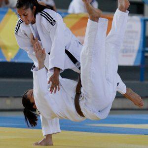Oft ist der Wurf im Judo kampfentscheidend